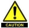 Caution Warehouse Hazards