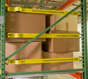 Pallet Rack End of Aisle Safety Straps