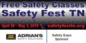 Safety Fest TN 2019 Oak Ridge TN - Adrian's Safety
