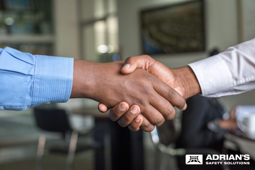 Hand Shake – building long term relationships
